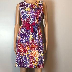🆕 Calvin Klein Multi Color Sheath Dress 4